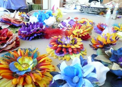 Hair Flower Making Workshop